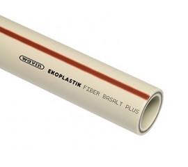 Полипропиленовая труба WAVIN Ekoplastik FIBER BASALT PLUS S 3,2 (20-63мм) ТРУБА FIBER BASALT PLUS S 4 (75-125мм)
