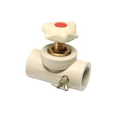 Проходной вентиль с выпускным клапаном Ekoplastik