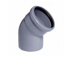 Колено OSTENDORF для внутренней канализации 45° Ø 32,40,50,110 мм