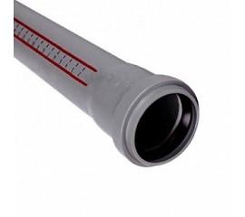 Труба OSTENDORF для внутренней канализации с раструбом Ø110 мм