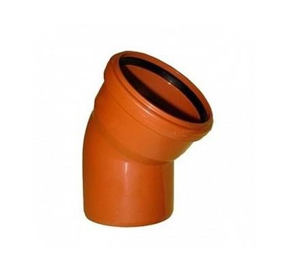 Колено OSTENDORF для наружной канализации 30° Ø 110,160,200 мм