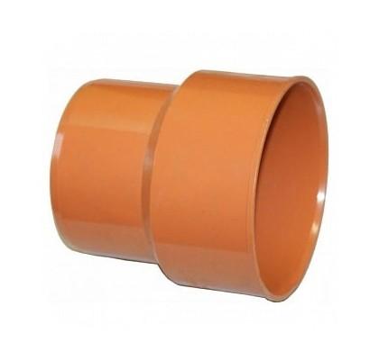 Переход чугун / ПВХ OSTENDORF для наружной канализации Ø 110,160,200 мм