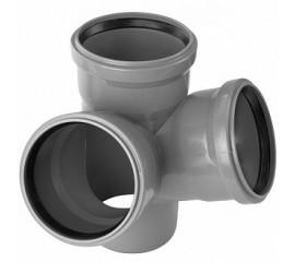 Крестовина угловая OSTENDORF для внутренней канализации 67.5°
