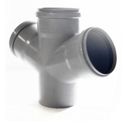 Крестовина угловая OSTENDORF для внутренней канализации 45°