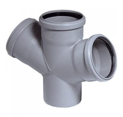 Крестовина OSTENDORF для внутренней канализации 67°