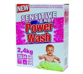 Детский порошок Power Wash Sensitive Baby 2,4 кг