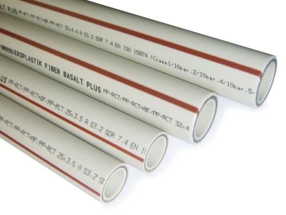 рубы полипропиленовые Fiber Basalt Plus
