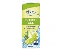 Гель для душа Elkos лимонник и лайм 300 мл.