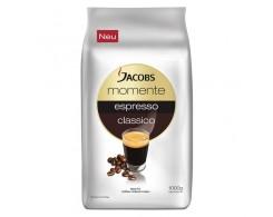 Кофе в зёрнах Jacobs Momente Espresso Classic 1 кг.