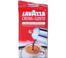 Молотый кофе Lavazza Creme e Gusto 250 гр.