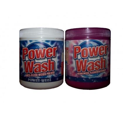 Сыпучий пятновыводитель Power Wash 600 гр.