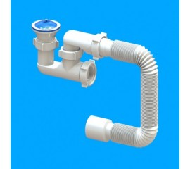 Сифон Santehplast FLAT steamer D-02