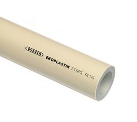 Полипропиленовая труба Ekoplastik STABI PLUS PPR-CT Ø 16-110 мм