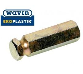 Хвостик для крепления обрезного устройства на дрель Ekoplastik