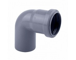 Колено OSTENDORF для внутренней канализации 67° Ø 32,40,50,110 мм