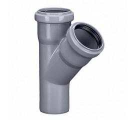 Тройник OSTENDORF для внутренней канализации 45° Ø 32,40,50,110 мм