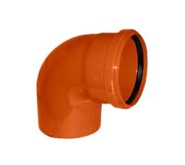 Колено OSTENDORF для наружной канализации 87° Ø 110,160,200 мм