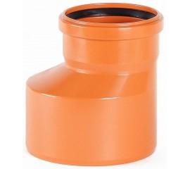 Редукция эксцентрическая OSTENDORF для наружной канализации Ø 110,160,200 мм