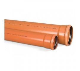 Труба c раструбом OSTENDORF для наружной канализации Ø 200 мм