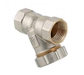 Фильтр механической очистки косой c заглушкой VT.193.N вн.-вн.