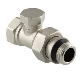 Клапан настроечный прямой с дополнительным уплотнением VT.020.NR