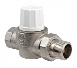 Клапан термостатический повышенной пропускной способности прямой VT.034.N