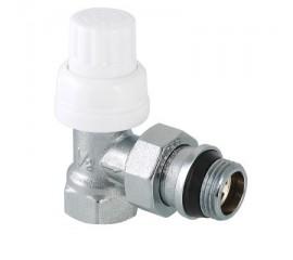 Клапан термостатический угловой с дополнительным уплотнением VT.031.NR