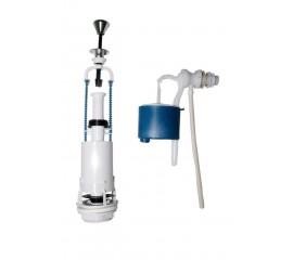 Комплект арматуры для бачков с боковой подачей воды АБ 66.54