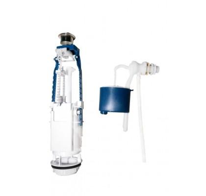 Комплект арматуры для бачков с боковой подачей воды АБ 77.54